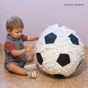 Пиньята футбольный мяч