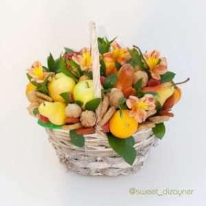 Букет фруктово-ореховое изобилие