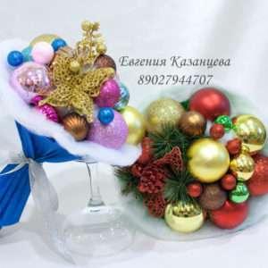 Букет новогодний (интерьерный)