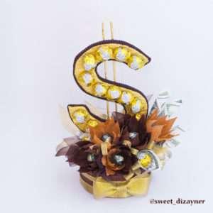 "Доллар из конфет ""К прибыли"""
