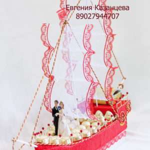 """Корабль свадебный """"Алые паруса"""""""